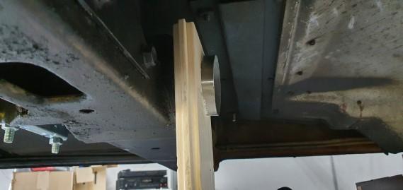 Marking plank