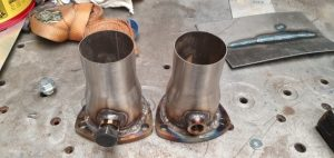 Welded reducers