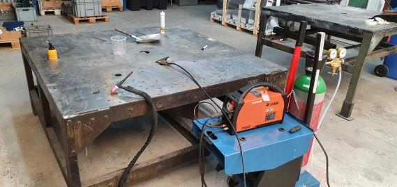 Workshop + TIG welder